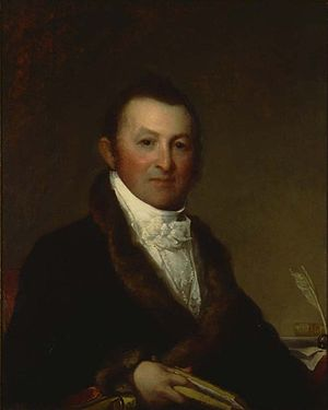 William Eustis - Harrison Gray Otis, portrait by Gilbert Stuart