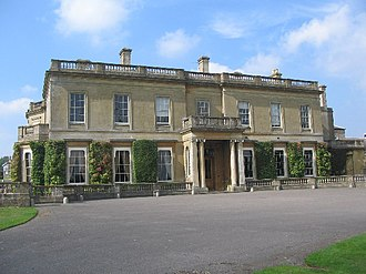 Corsham - Hartham Park manor house, designed by James Wyatt