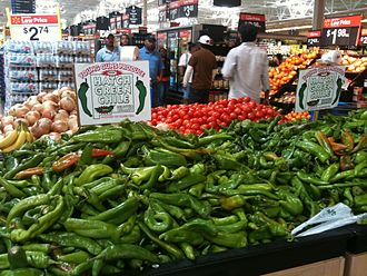 New Mexico chile - Image: Hatch green chile