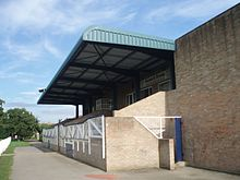 Stand and clubhouse, Havant RFC