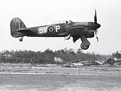 Hawker Typhoon w barwach 439 Dywizjonu RCAF
