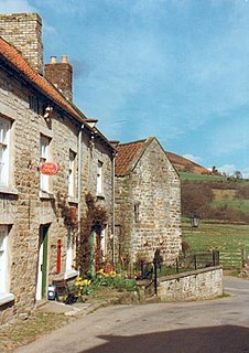 Hawnby Village and civil parish in North Yorkshire, England