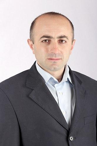 Nagorno-Karabakh parliamentary election, 2015 - Image: Hayk khanumyan
