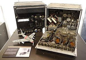 Hazeltine Corporation - Hazeltine AN-APX-6 Identification Friend or Foe (IFF) transponder, introduced 1950.