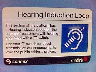 Audio induction loop