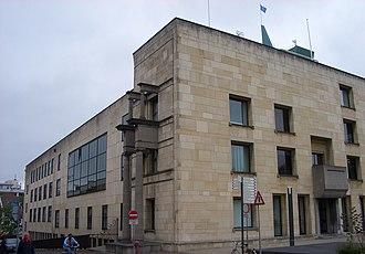 Frits Peutz - Heerlen: Town hall, front