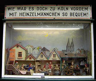Heinzelmännchen - Heinzelmännchen-diorama