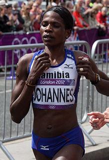 Helalia Johannes Namibian long-distance runner