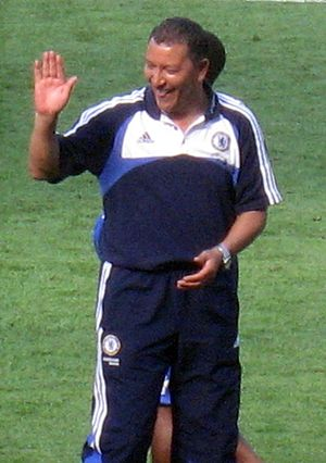 Henk ten Cate - Ten Cate with Chelsea.