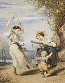 Henri Charles Antoine Baron - Filles italiennes dansant.jpg