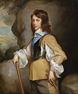 son of Charles I of England