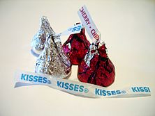 Hershey's Kisses and Cherry Cordial Creme Kisses.jpg