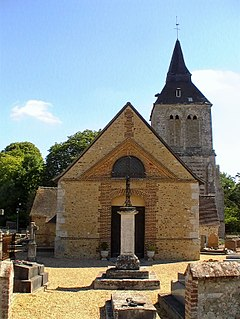 Heudebouville Commune in Normandy, France