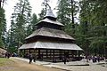 Hidimba Devi Temple - North-west View - Manali 2014-05-11 2645.JPG