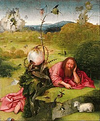Hieronymus Bosch: St. John the Baptist in the Wilderness