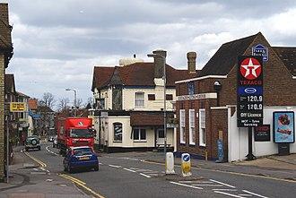 Caterham - Caterham-on-the-Hill's high street