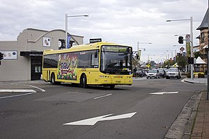 Castle Hill, New South Wales - Castle Hill Bus interchange