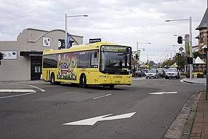 Castle Hill, New South Wales - Castle Hill Bus interchange