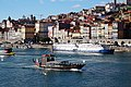 Historic buildings along the Douro River, Porto (26474226689).jpg