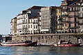 Historic buildings along the Douro River, Porto (26474230889).jpg
