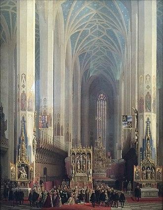 Max Emanuel Ainmiller - The Wedding of Wilhelm V and Renata of Lorraine