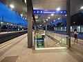 Hohemens railway station in the evening.jpg