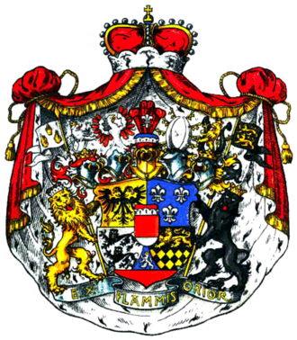 Hohenlohe-Langenburg - Coat of arms of the Princes of Hohenlohe-Langenburg