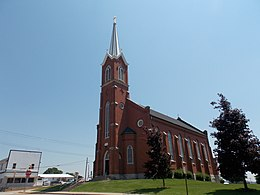 Holy Trinity Church - Luxemburg, Iowa 01.jpg