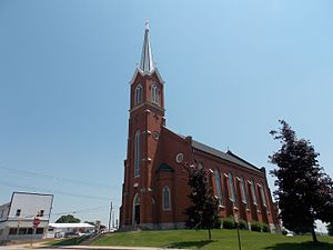 Luxemburg, Iowa - Holy Trinity Catholic Church