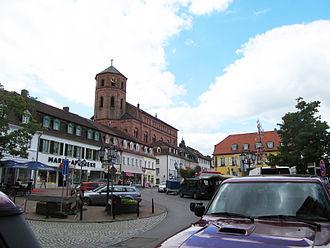 Homburg (Saar) - Market square