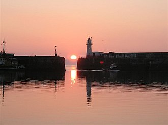Newlyn - Image: Home by sunrise geograph.org.uk 549297