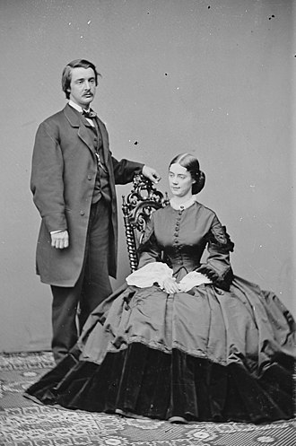 Kate Chase - Kate and William Sprague