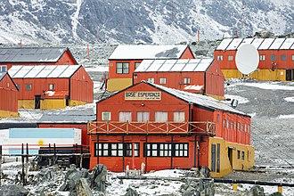 Esperanza Base - View of Esperanza Base, January 2016