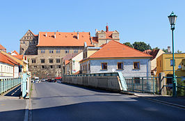 Horšovský Týn, bridge over Radbuza river.jpg
