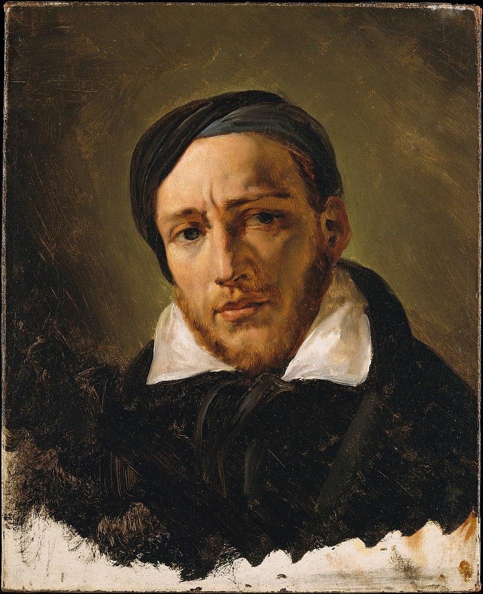 Horace Vernet, Jean-Louis-André-Théodore Gericault, probably 1822 or 1823, 1998.84, MET