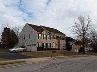 Houses in South Run Forest development, South Run CDP, Virginia 03.jpg