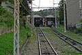 Hozanji Station platform.jpg
