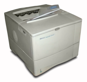 English: An HP LaserJet 4100TN / 4100-TN laser...