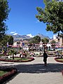 Huaraz central square (Plaza de Armas) (5968881438).jpg