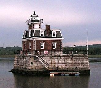 Hudson–Athens lighthouse - Hudson–Athens Lighthouse, September 2006