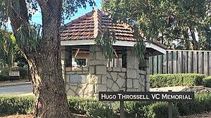 Hugo Throssell - Hugo Throssell VC Memorial, Greenmount