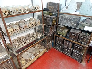 Human Remains and War Materiel from 1971 Genocide - Liberation War Museum - Dhaka - Bangladesh (12826731774).jpg
