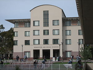 University of California, Santa Barbara - The Humanities and Social Sciences building.