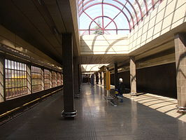 Hurka metro station Prague CZ 036.jpg