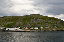 Hurtigruten coming into port at Havoysund, northen Norway (4).jpg