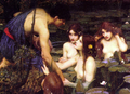 Hylas and the Nymphs (detail).png