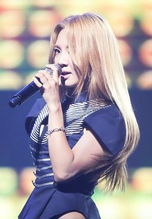Hyoyeon at Diet Look Concert in September 2012 02.jpg