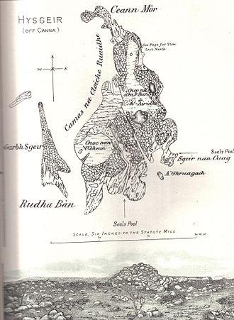 Hyskeir - The Island in 1892.
