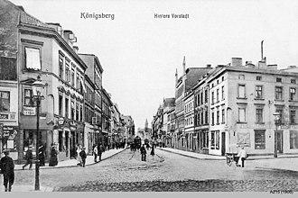 Vorstadt (Königsberg) - Image: ID003310 A215 Hintere Vorstadtx