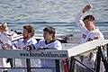 IMGP8485 Craig Breslow, Junichi Tazawa and Koji Uehara.jpg